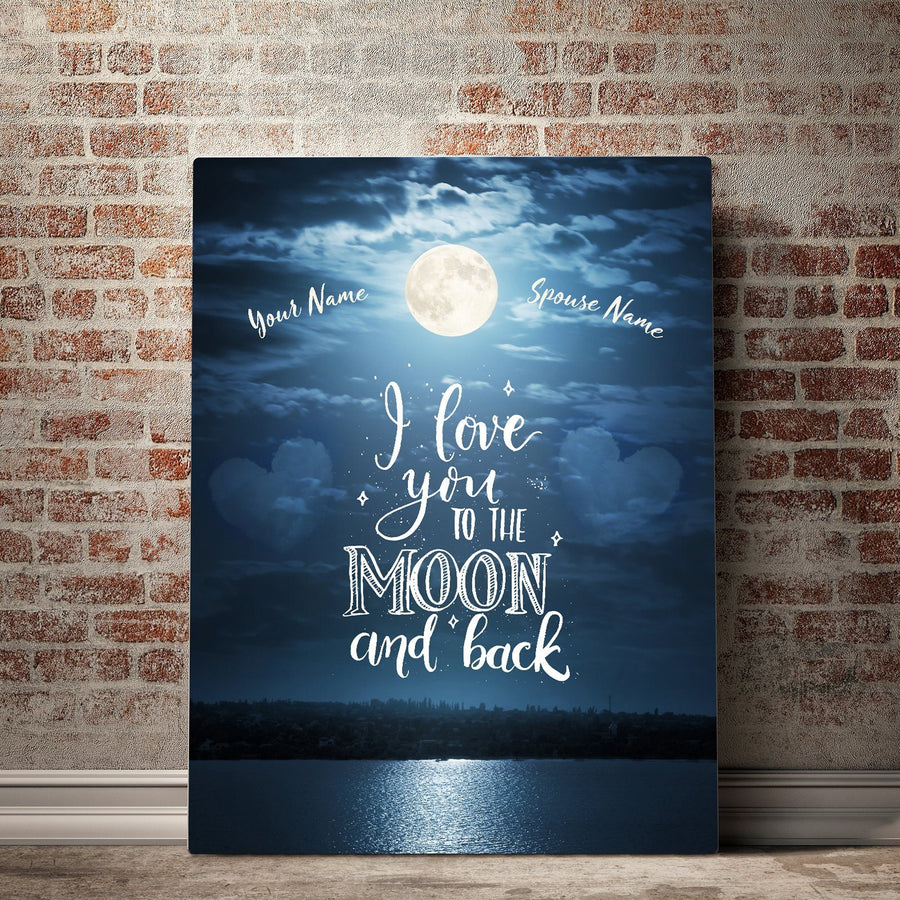 Custom Personalized Dreamy Love Canvas Set