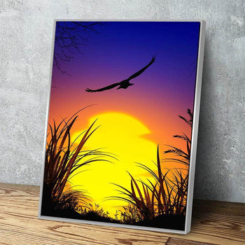 Dusk Departure Canvas Set