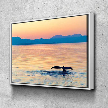 Dusk in Alaska Canvas Set