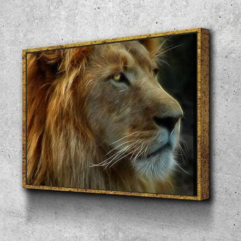 Electrifying Lion Canvas Set