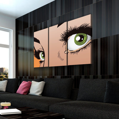 Emerald Eyes Canvas Set