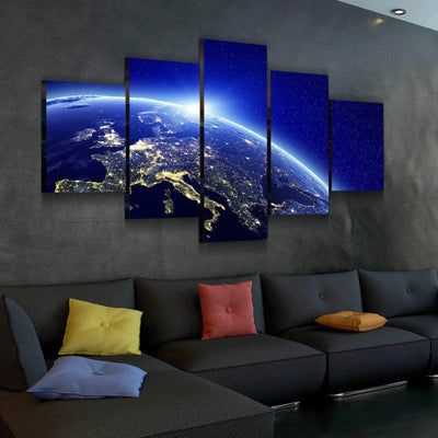 Europe Lights Canvas Set