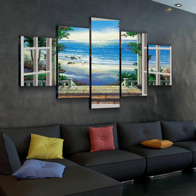 Exotic View Canvas Set