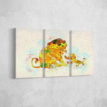 Father and Son Canvas Set
