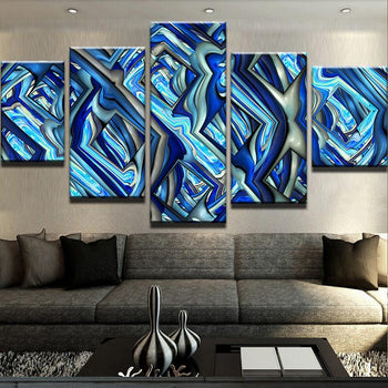 Bluish Melody Canvas Set