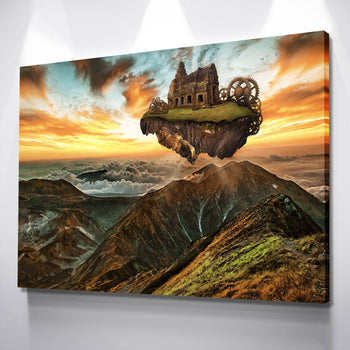 Floating Island Canvas Set