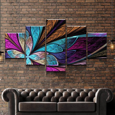 Four Leaf Canvas Set