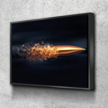 Flying Bullet Canvas Set