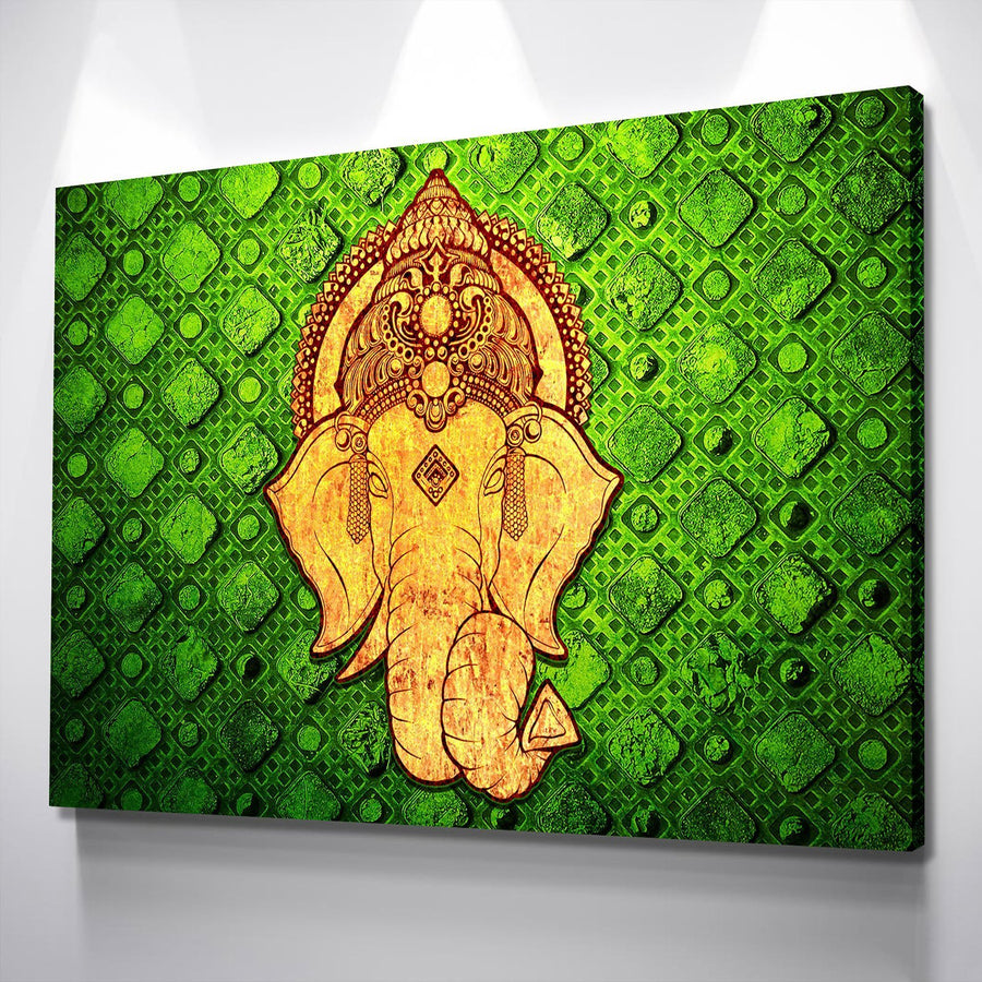 Forest Elephant Canvas Set