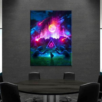 Fountain Canvas Set