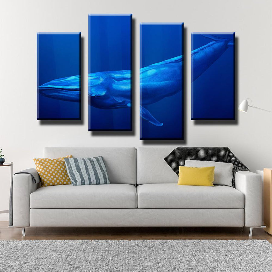 Great Whale Canvas Set