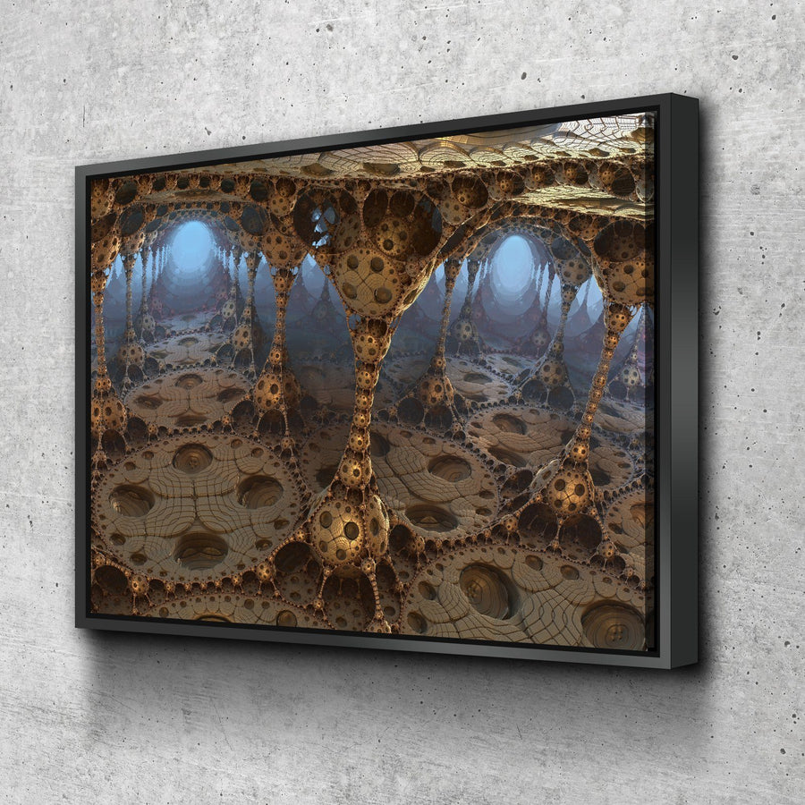 Fractal Pods Canvas Set