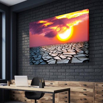 Fractured Surface Canvas Set