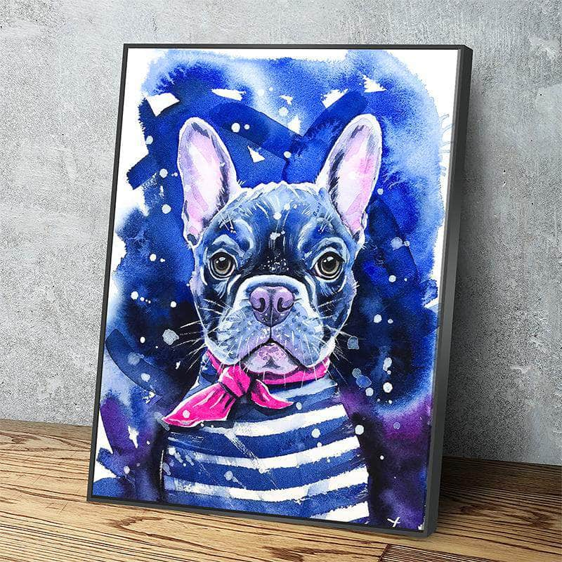 Frenchie Canvas Set