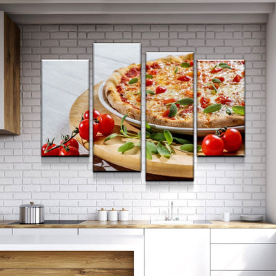 Fresh Pizza Canvas Set