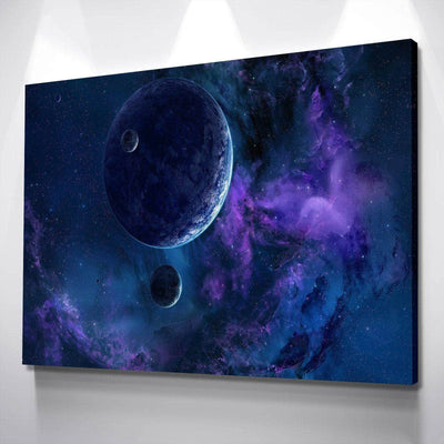 Galaxies Away Canvas Set