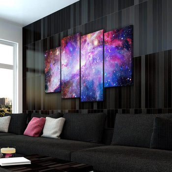 Galaxy Nebula Canvas Set