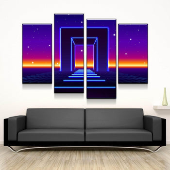Gate to the Galactics Canvas Set