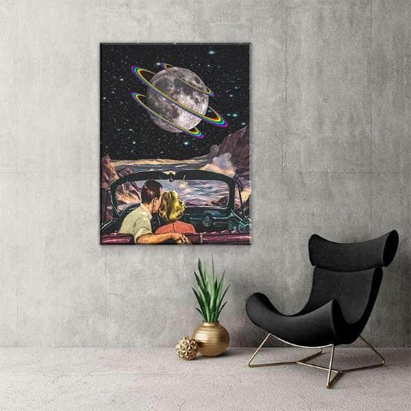 Get You the Moon Canvas Set