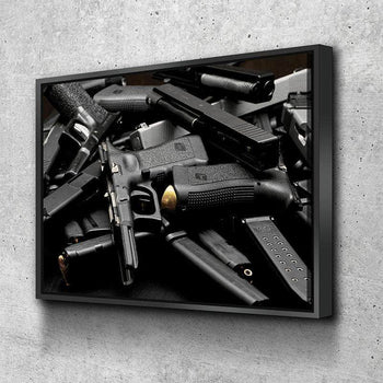 Glock Pile Canvas Set