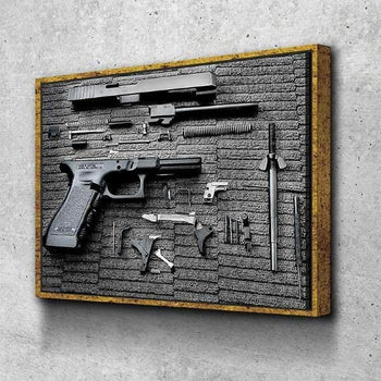 Glock Guts Canvas Set