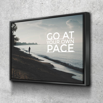 Go at Your Own Pace Canvas Set