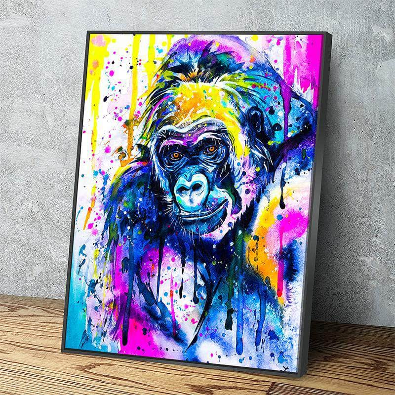 Gorilla Canvas Set