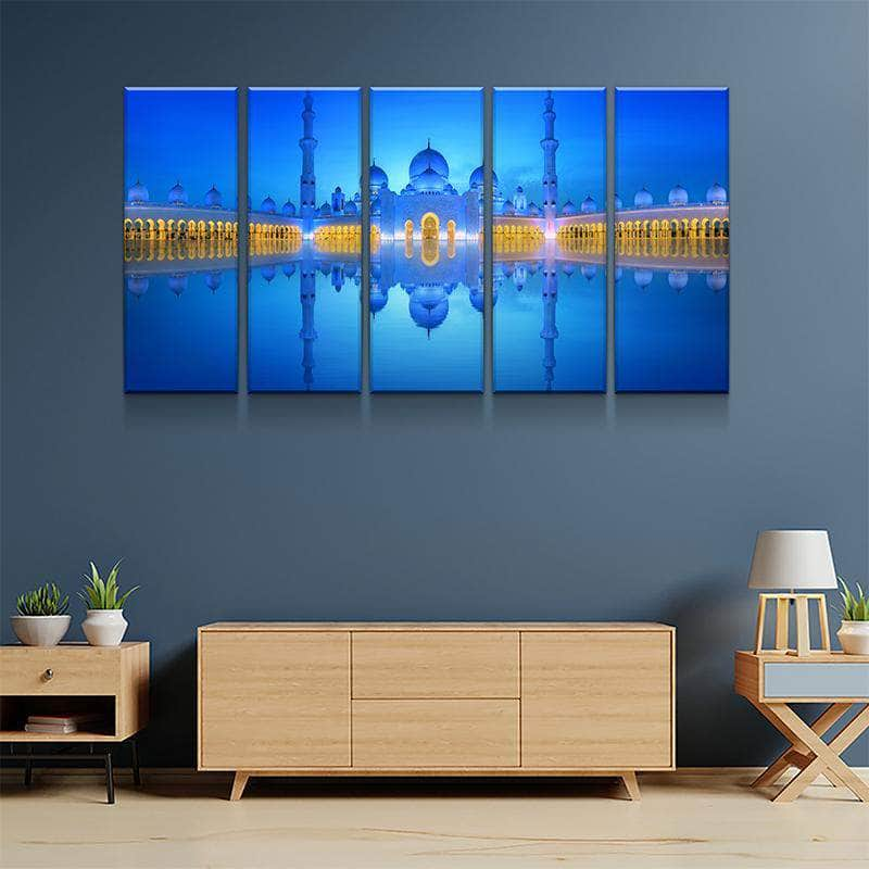 Grand Mosque Canvas Set