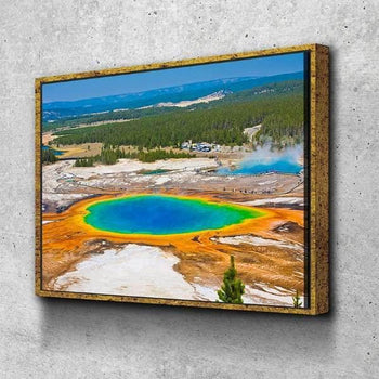 Grand Prismatic Spring Canvas Set