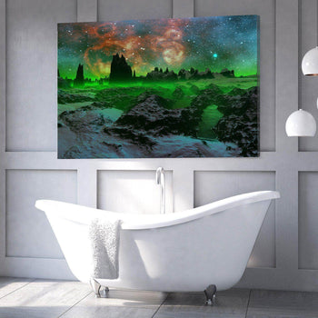 Green Space Canvas Set