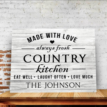 Country Love Custom Canvas Set