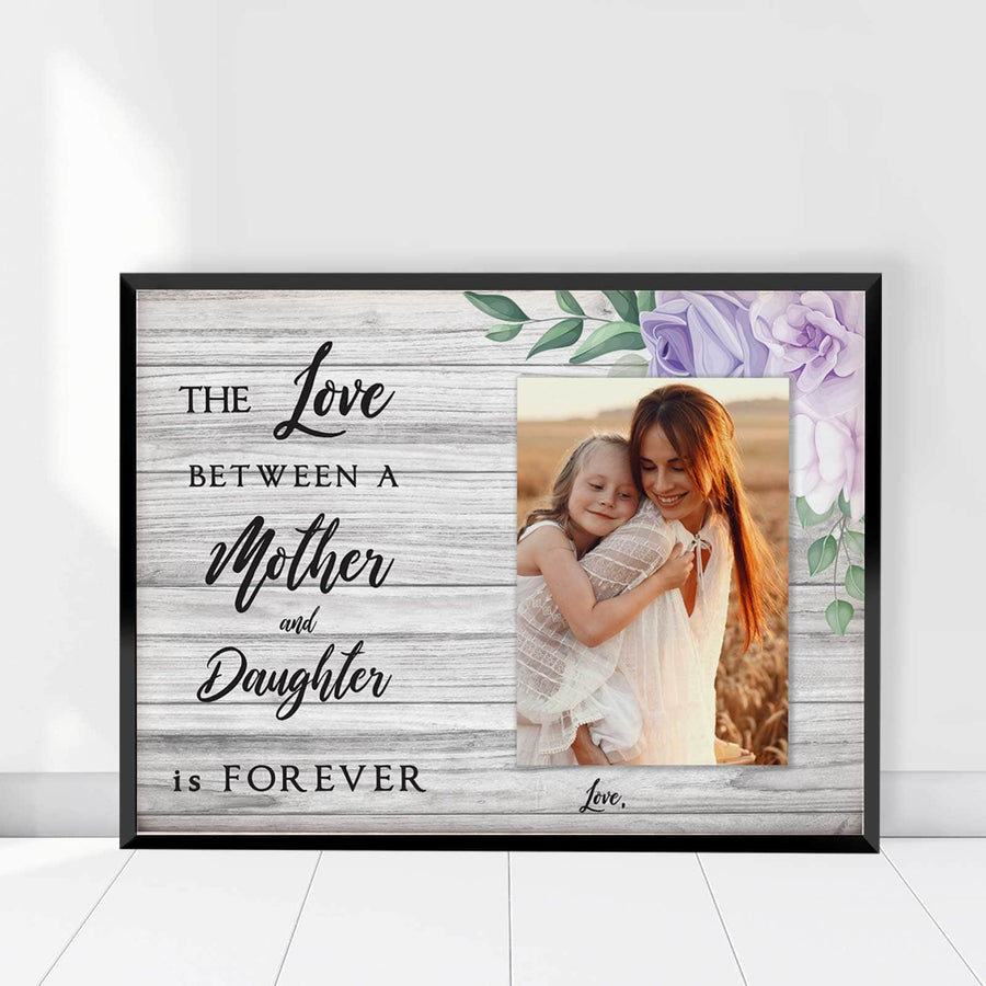 Mother and daughter Forever Custom Canvas Set