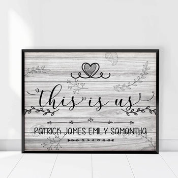 This is Us Forever Custom Canvas Set