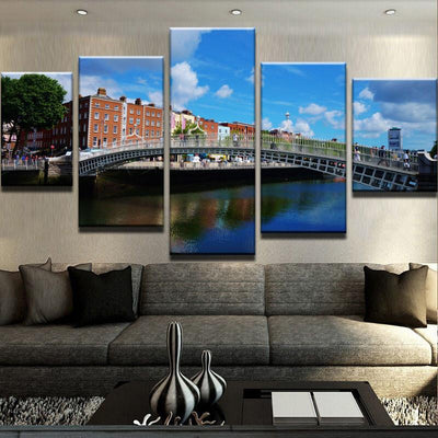 Ha'penny Bridge Canvas Set
