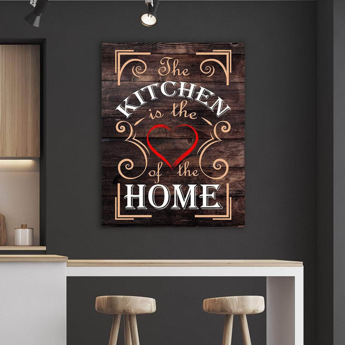 Heart Of The Home Kitchen And Dining Room Wall Decor Canvas Set Freaks