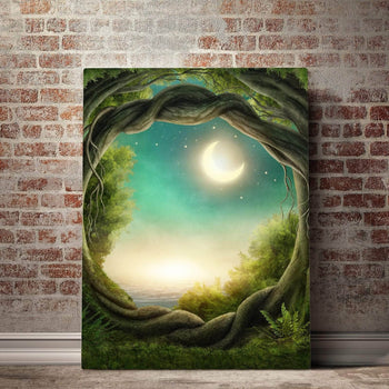 Hidden Passage Canvas Set