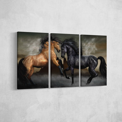 Horses Canvas Set