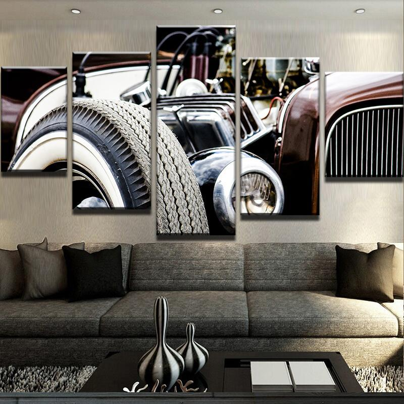 Hot Rod Canvas Set