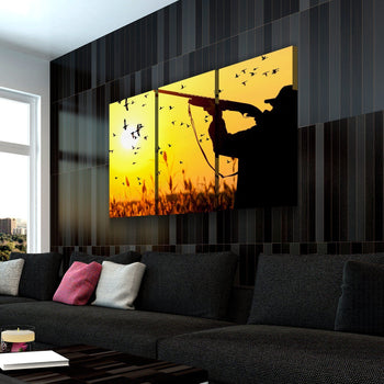Hunting Sunset Canvas Set
