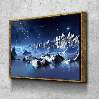 Icy Land Canvas Set