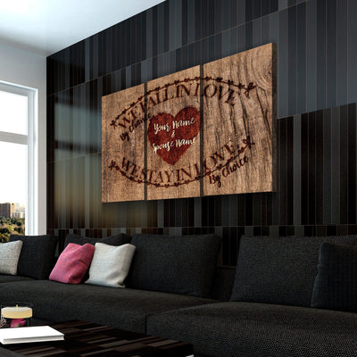 Custom Personalized Forever Love Canvas Set