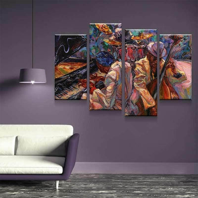Jazz Duo Canvas Set