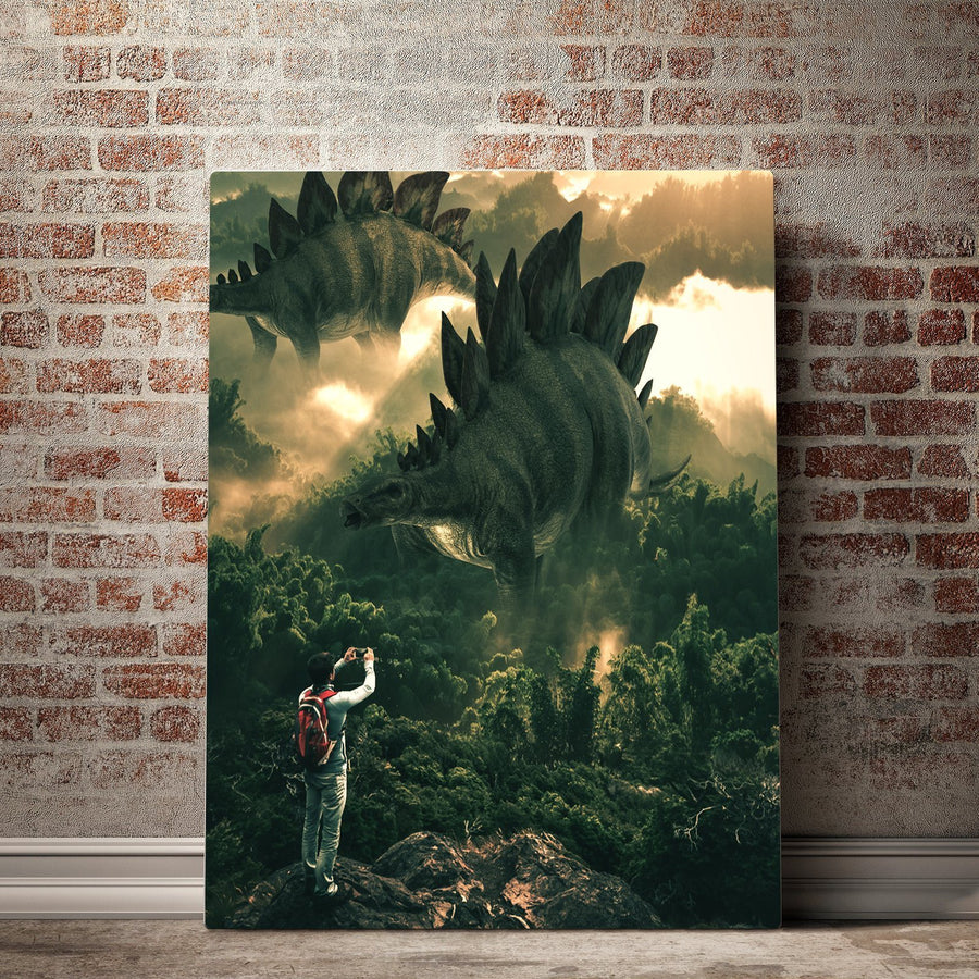 Jurassic Kingdom Canvas Set