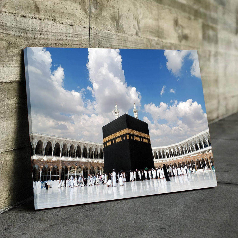 Kaaba in Mecca Canvas Set