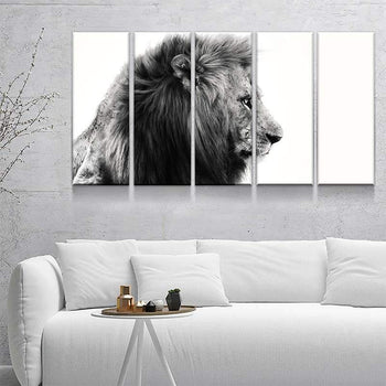 King of The Jungle Canvas Set