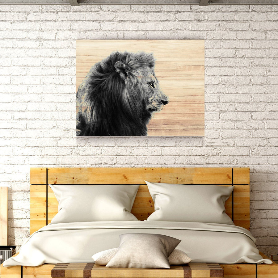 King of the Jungle Wooden Wall Decor