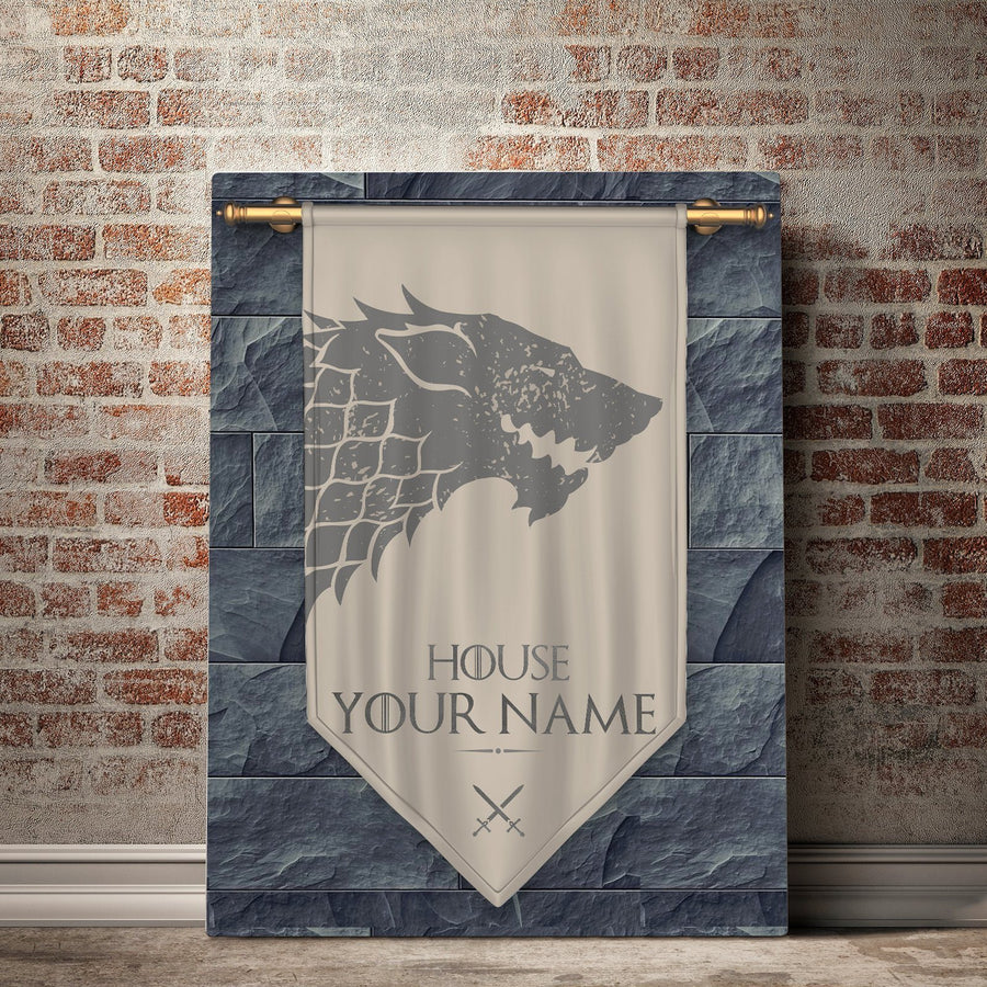 Custom Personalized Kings of the North Canvas Set