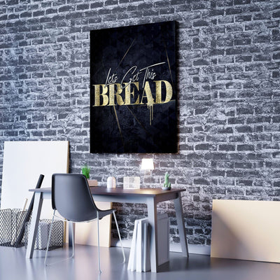 Lets Get This Bread Canvas Set