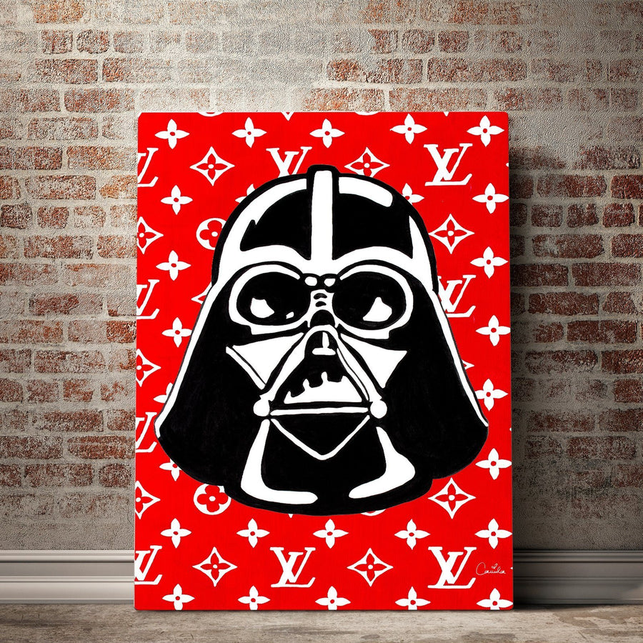 LV Darth Vader Canvas Set