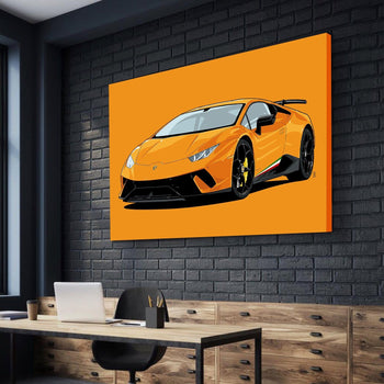 Lamborghini Huracan Canvas Set